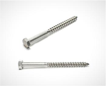 Em Aço 304, os parafusos são usados para fixar os flanges e suportes parede, e por serem em inox tem uma grande resistência à corrosão.