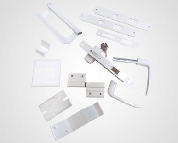 Componentes Alumínio Gradil e Portas