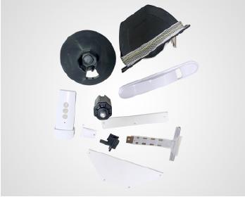 Componentes Alumínio Integrada